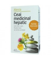 Alevia ceai medical hepatic 40 plicuri