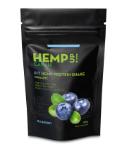 Shake proteic cu canepa ECO Fit Hemp Up 300 gr - CANAH
