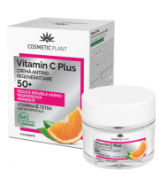 Cremă antirid regeneratoare 50+ Vitamin C Plus 50 ml - Cosmetic Plant
