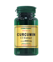 CURCUMIN C3 Extract 400mg 60 cps Cosmopharm - PRODUS INDISPONIBIL MOMENTAN!