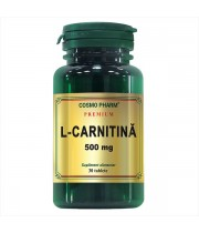 L- Carnitina 500 mg 30 tablete Cosmopharm