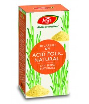 Acid Folic Natural G71 capsule Fares