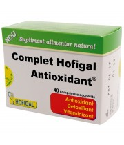 COMPLET ANTIOXIDANT X 40 COMPRIMATE - HOFIGAL