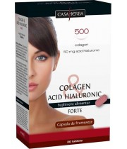 Colagen cu Acid Hialuronic Forte 30 tablete - Interherb