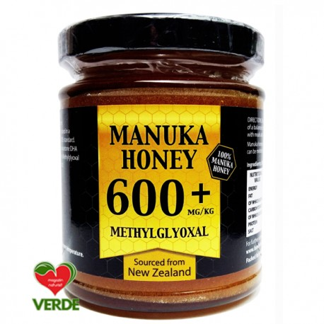 Miere de Manuka New Zealand 600+ MGO 250gr - Family Foods