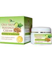 Oily Skin Massage Cream - crema pentru ten gras si acneic 50 ml - Ayurveda