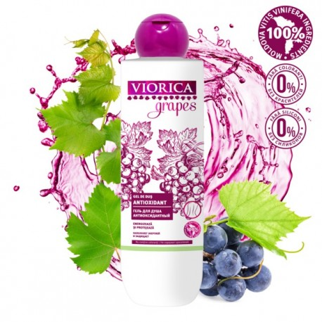 Gel de dus antioxidant 300 ml - VIORICA GRAPES