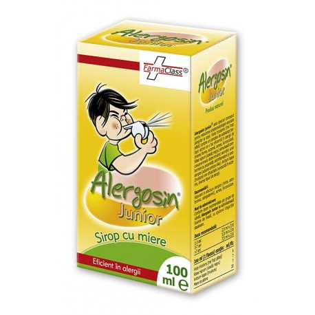 Alergosin junior sirop 100 ml - Farmaclass