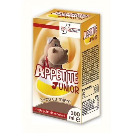 Appetite junior sirop 100 ml - Farmaclass