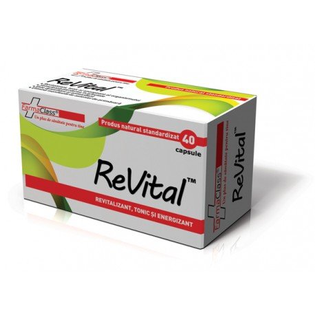 Revital 40 capsule - Farmaclass