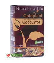 Ceai Alcool Stop 150 gr - Gold Plant