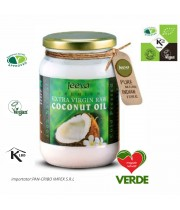 Ulei de cocos Jeeva extra virgin cu acid lauric 200 ml