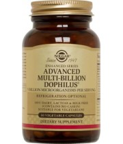 Advanced Multi-billion Dophilus 60cps - Solgar