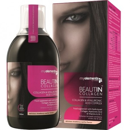 BEAUTIN COLLAGEN CAPSUNI SI VANILIE 500 ML - MY ELEMENTS