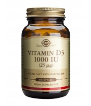 Solgar - Vitamina D3 1000IU 100 Tablete