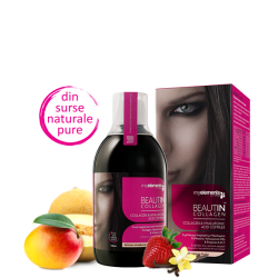 BEAUTIN COLLAGEN MANGO ȘI PEPENE CU MAGNEZIU 500 ML - MY ELEMENTS