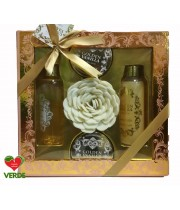 SET CADOU GOLDEN VANILLA COLLECTION 5 PIESE - VILLAGE