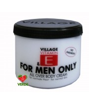 CREMA DE CORP ONLY FOR MEN CU VITAMINA E 500 ml - VILLAGE