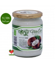 Ulei de cocos Viva Coco extra-virgin cu 51.38% acid lauric 500 ml