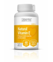 Natural Vitamin E 60 capsule x 13,5 mg Zenyth